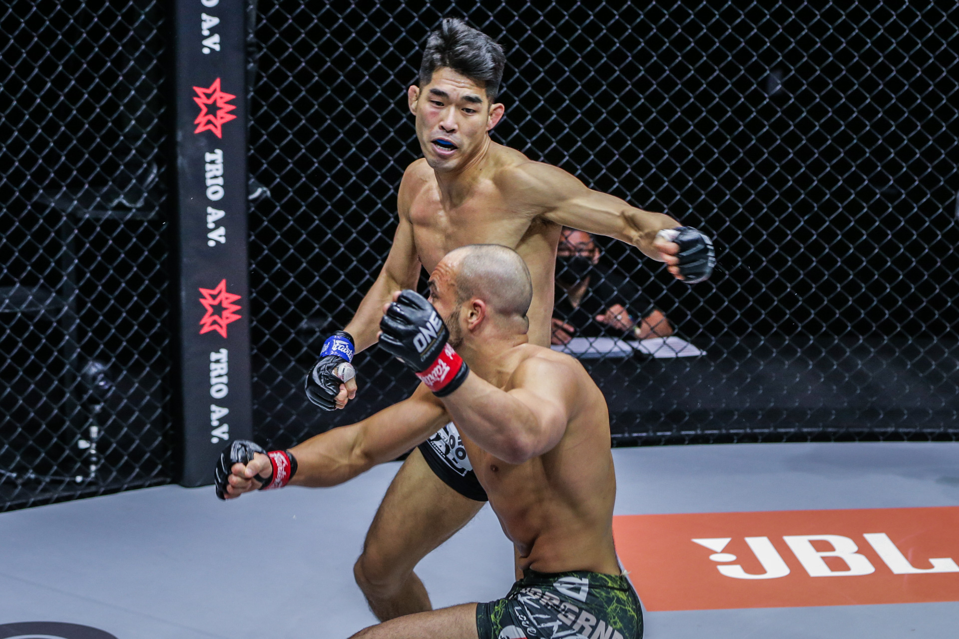 Ok regretted not being able to win against Alvarez sooner.  Photo: ONE Championship