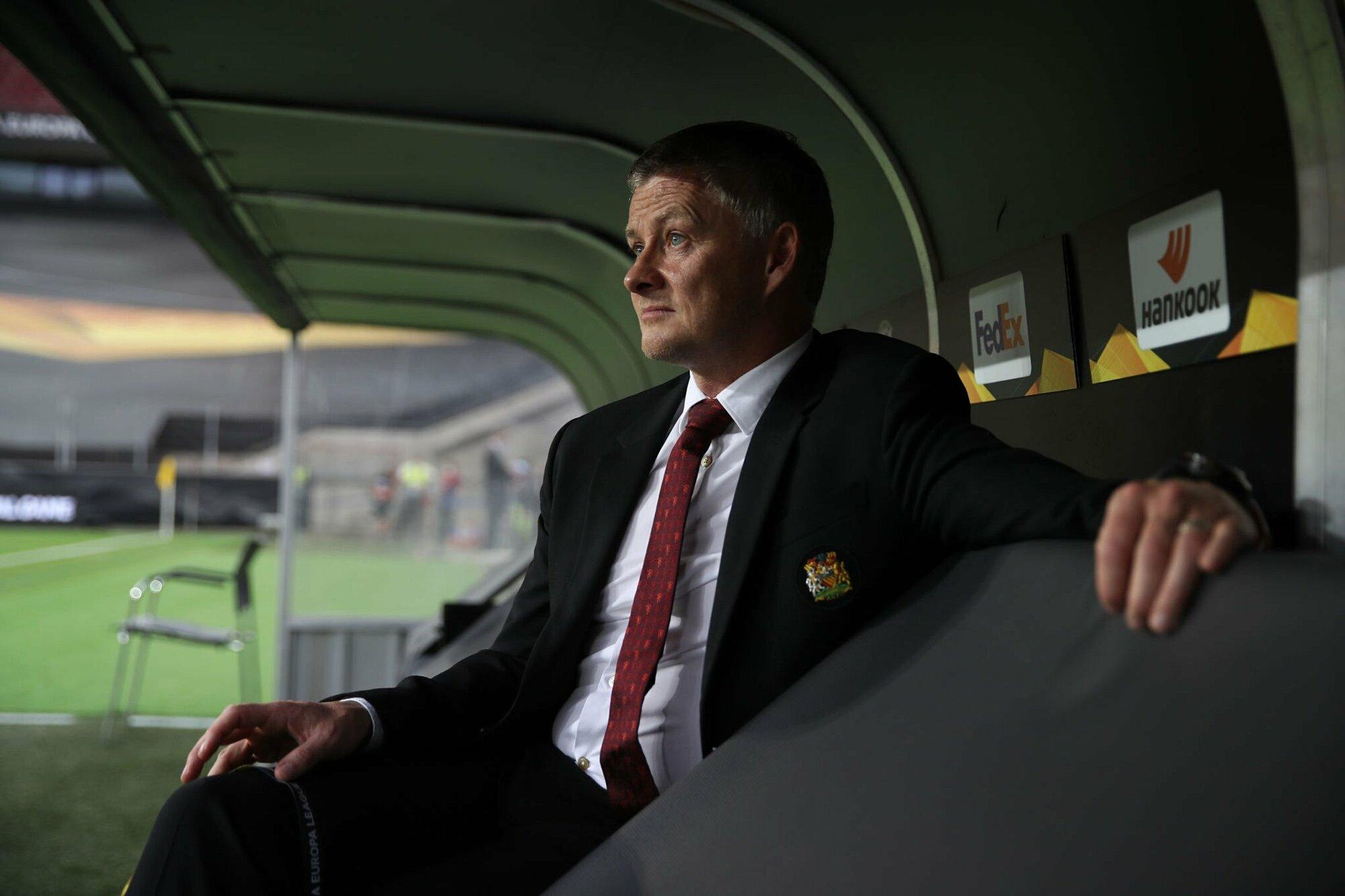 Kemenangan kemarin atas Roma 6-2 adalah yang kesembilan kalinya di bawah asuhan Solskjaer, Man Utd menang dengan lima gol.  Foto: AFP
