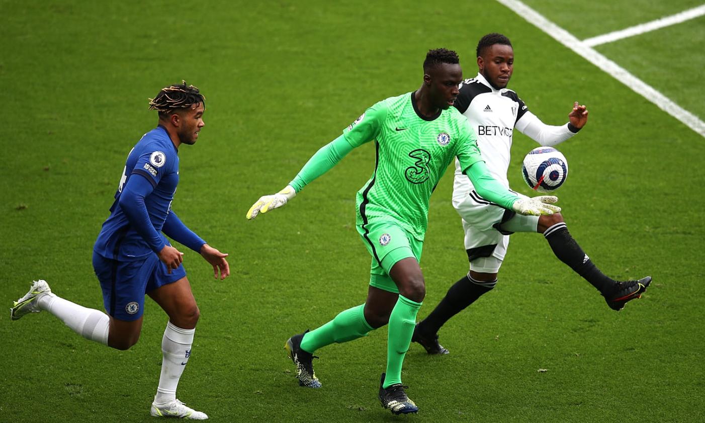 Thủ môn Mendy là chốt chặn vững chãi với nhiều pha ra vào hợp lý, giúp Chelsea giữ sạch lưới. Ảnh: Chelsea FC
