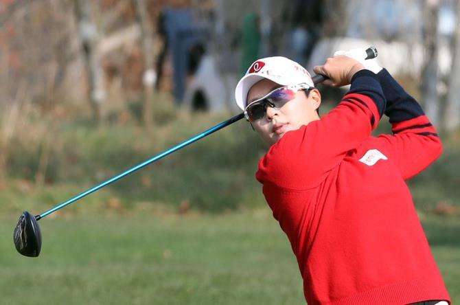 Kim Hyo-joo giải cơn khát danh hiệu dài năm năm ở LPGA Tour bằng phong độ xuất thần tại HSBC Women's World Championship. Ảnh: Yonhap