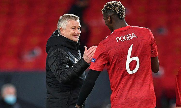 Pogba  thoải mái nếu  sự vắng mặt của anh giúp Man Utd  chơi tốt hơn. Ảnh: Reuters.