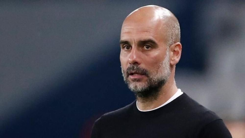Guardiola dan Man City belum pernah kalah dalam pertandingan Liga Champions musim ini.  Foto: Reuters.