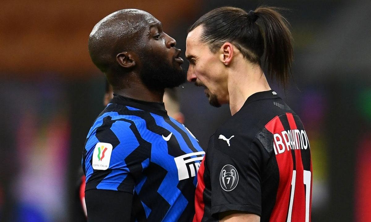 Lukaku một lần nữa khẳng định với Ibrahimovic anh mới là thánh. Ảnh: AP.