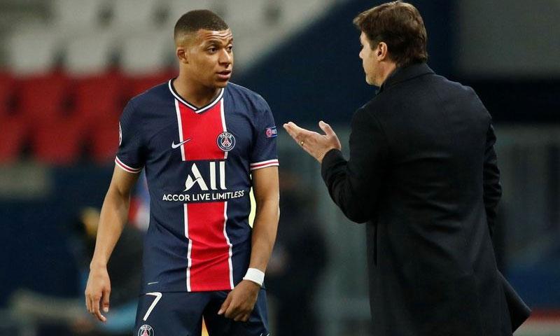 Sức mạnh của PSG sẽ suy giảm đáng kể nếu Mbappe vắng mặt. Ảnh: Reuters.