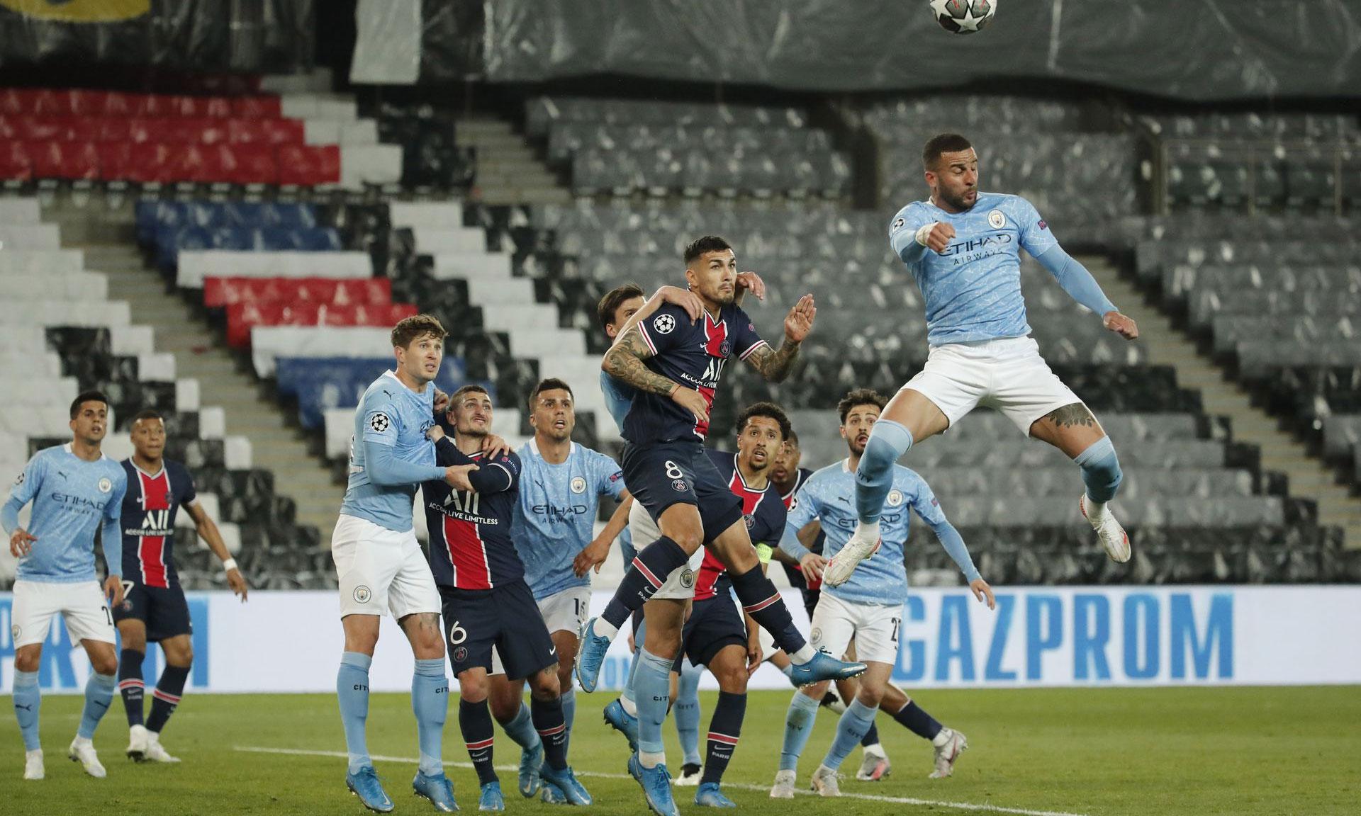 PSG lẫn Man City từng bị xem là thiếu bản lĩnh ở Champions League. Ảnh: Reuters.