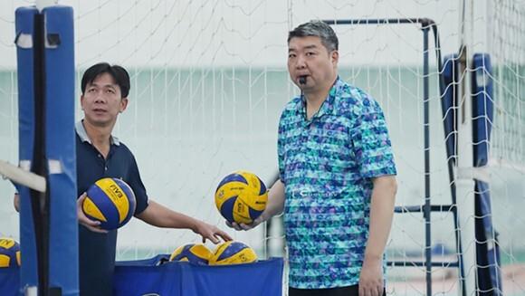 Mr. Li Huan Ning akan menjadi pelatih asing pertama yang memimpin tim voli putra Vietnam di SEA Games.  Foto: SGGP