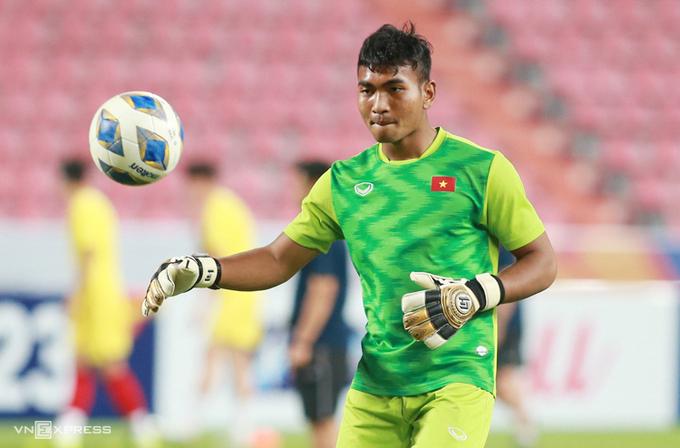 Y Êli NiÊ trong màu áo U23 Việt Nam tại giải U23 châu Á tháng 1/2020. Ảnh:Lâm Thoả.