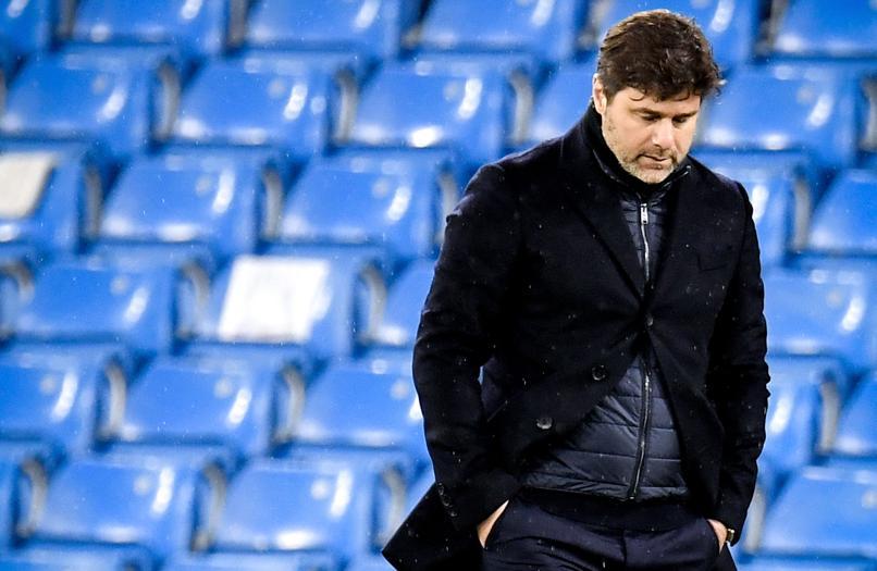 Pochettino dan PSG kalah dari Man City di kedua giliran, meski sama-sama diapresiasi.  Foto: EFE.