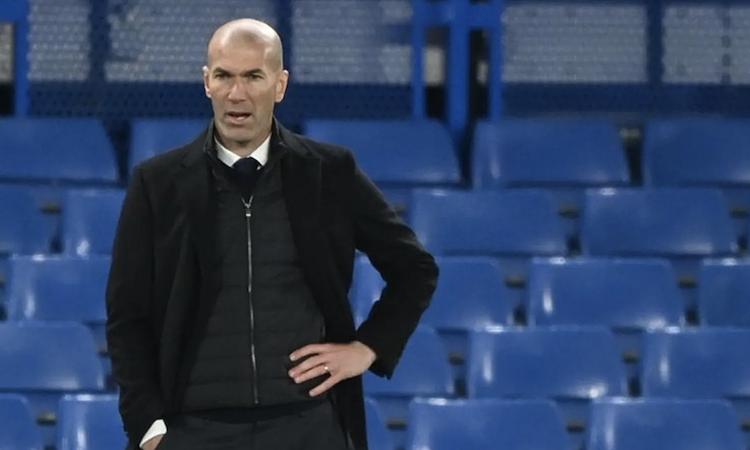 Zidane  không cho rằng ông mắc sai lầm chiến thuật ở trận bán kết lượt về. Ảnh: Reuters.
