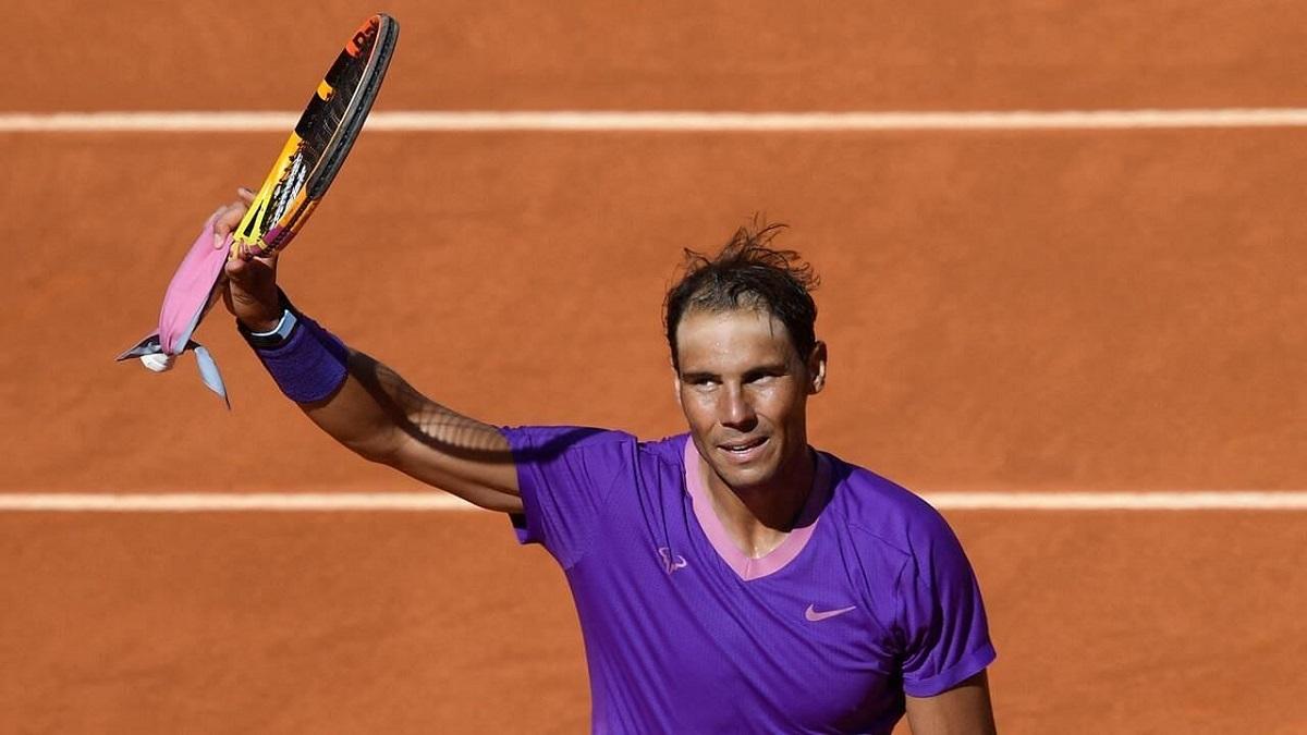 Nadal hướng đến chức vô địch thứ sáu ở Madrid Masters. Ảnh: ATP.