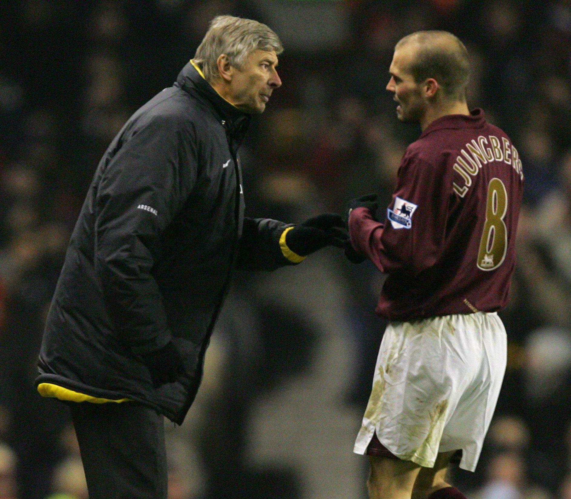 Ljungberg menjadi andalan Arsenal di tahun-tahun cemerlang era Arsene Wenger sebagai manajer klub.  Foto: PA