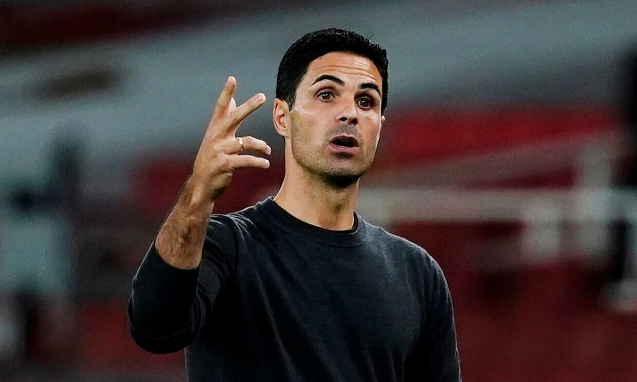 Arteta đạt tỷ lệ thắng tròn 50% với tư cách HLV Arsenal. Ảnh: Reuters