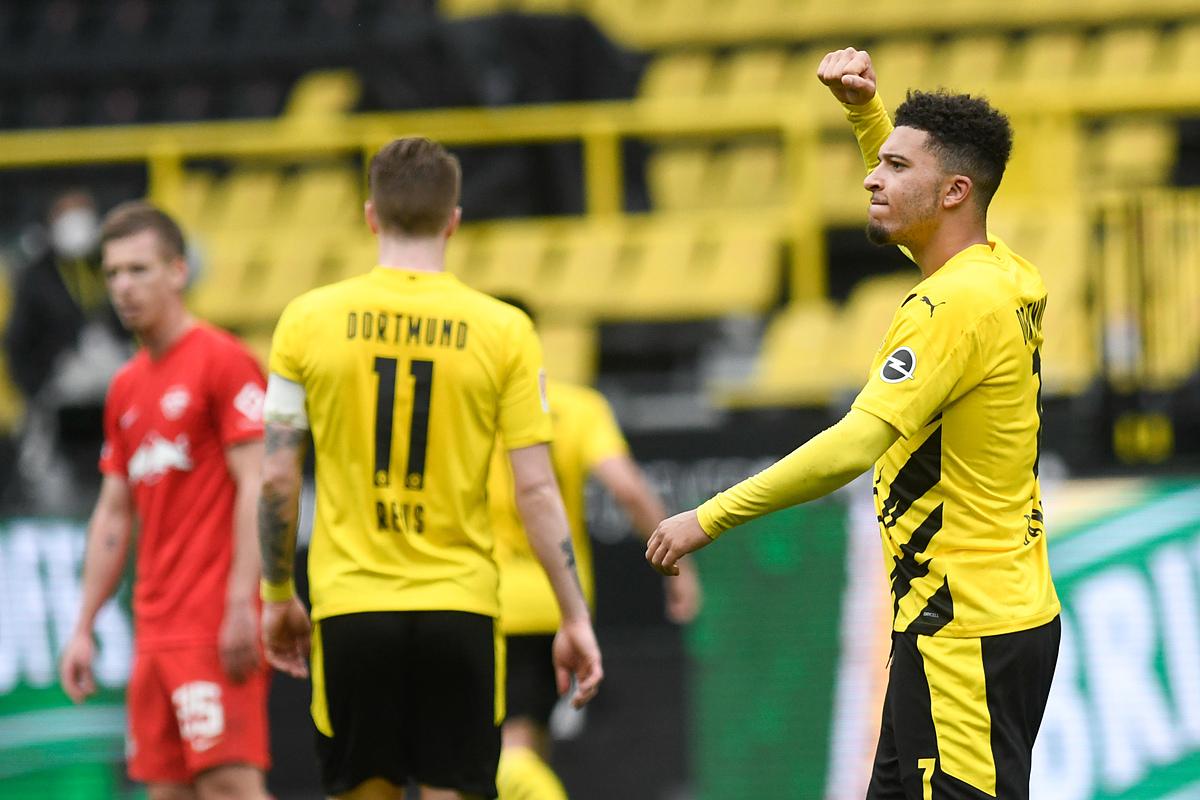 Sancho đóng góp cú đúp giúp Dortmund chiến thắng trận này. Ảnh: Reuters.