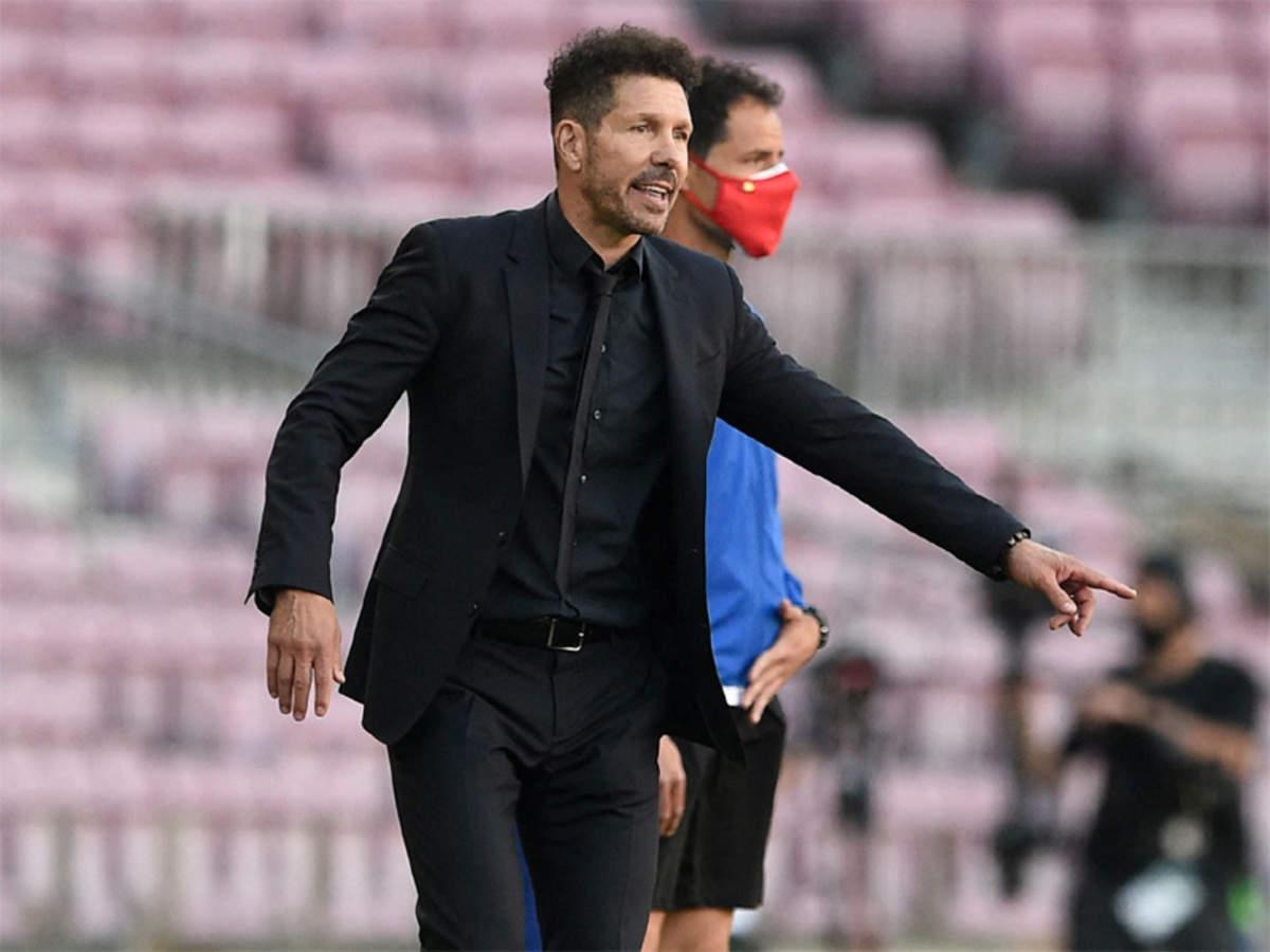 Guru dan siswa Simeone dapat kehilangan posisi teratas grup setelah putaran ke-35 La Liga.  Foto: Sasaran.