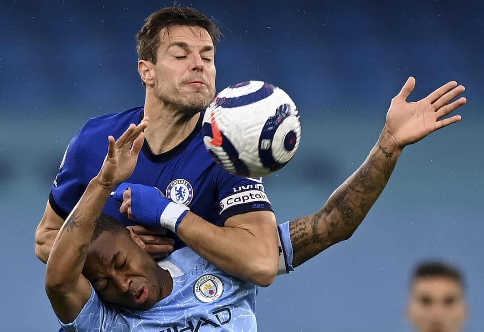 Chelsea vừa thắng Man City 2-0 ở vòng 35 Ngoại hạng Anh hôm 8/5. Ảnh: AP