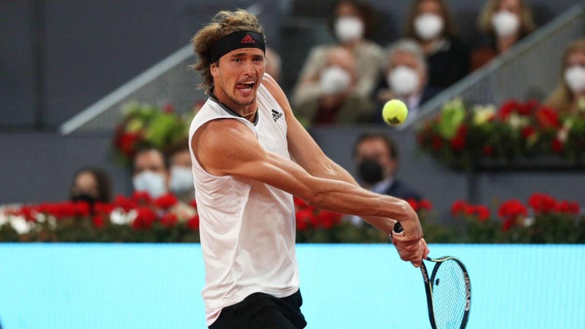 Zverev chỉ thua một set trong hành trình vô địch Madrid Masters. Ảnh: ATP.
