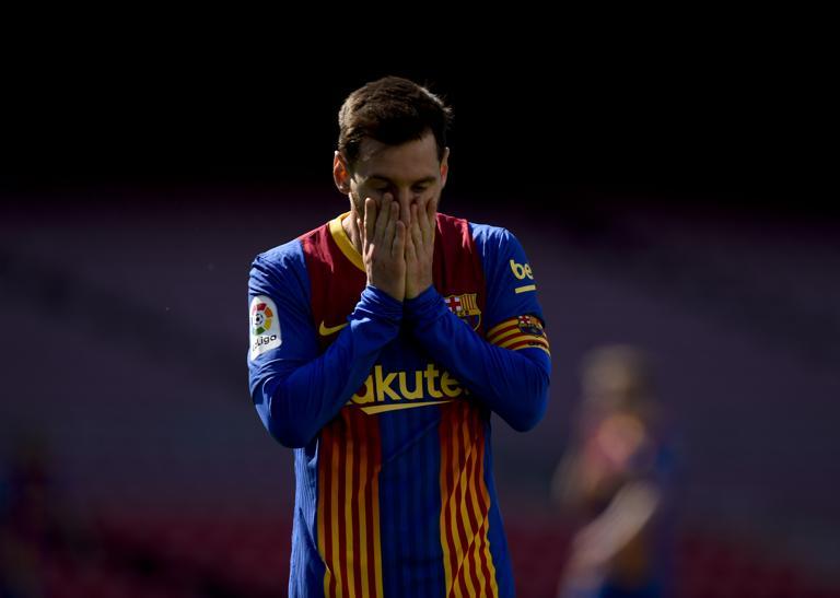 Barca ของเมสซี่อยู่ในสถานการณ์ที่ยากลำบากมากกว่าการแข่งขันชิงแชมป์