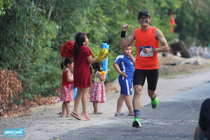 Runner tham gia giải chạy VnExpress Marathon Huế 2020. Ảnh: VnExpress Marathon.
