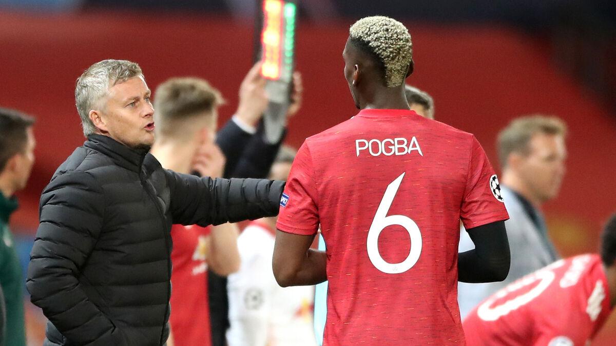 Pogba gần đây không được HLV Solskjaer tin dùng ở vị trí tiền vệ con thoi - sở trường của anh. Ảnh: PA
