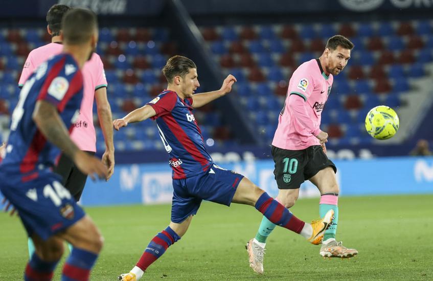 Messi memiliki 29 gol di La Liga musim ini.  Foto: EFE