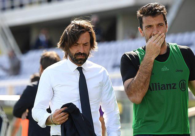 Buffon nhiều tuổi hơn cả HLV Juventus, Andrea Pirlo. Ảnh: Reuters.