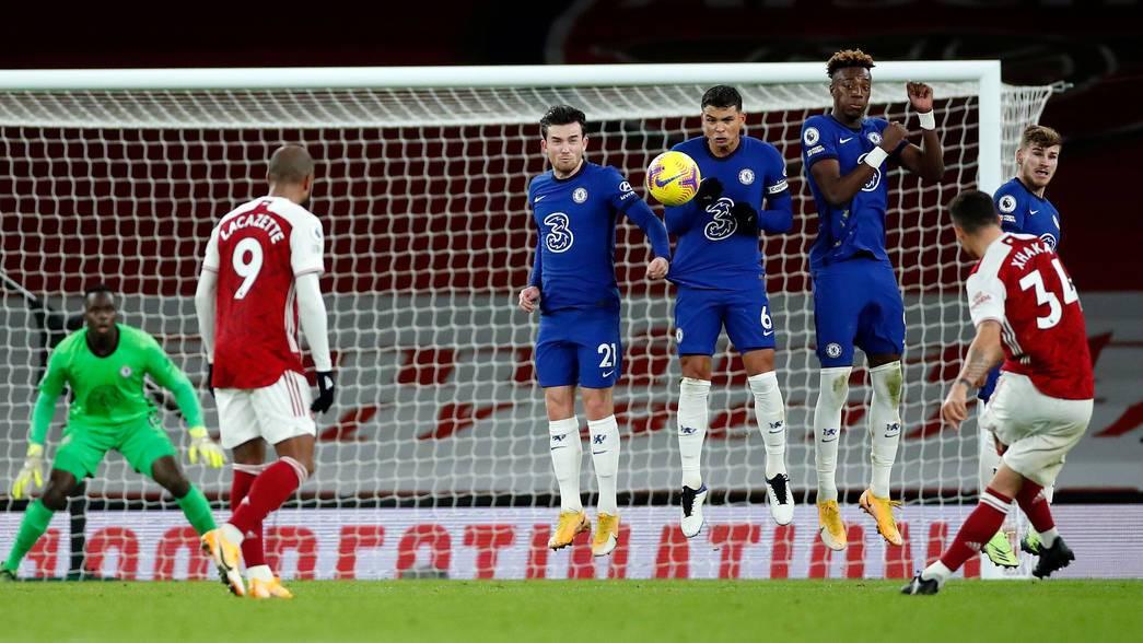 Pemain seperti Xhaka dan Lacazette hampir pasti harus meninggalkan Arsenal setelah musim ini.  Foto: Arsenal FC