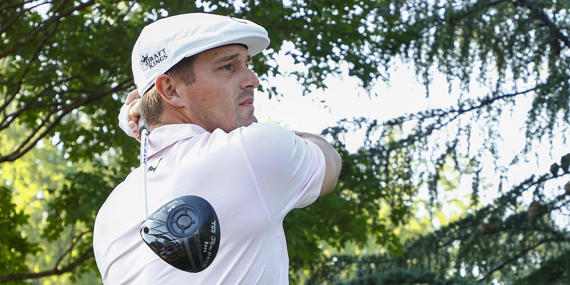 DeChambeau memimpin dalam jarak jauh, tetapi tidak efektif.  Foto: Golf Digest