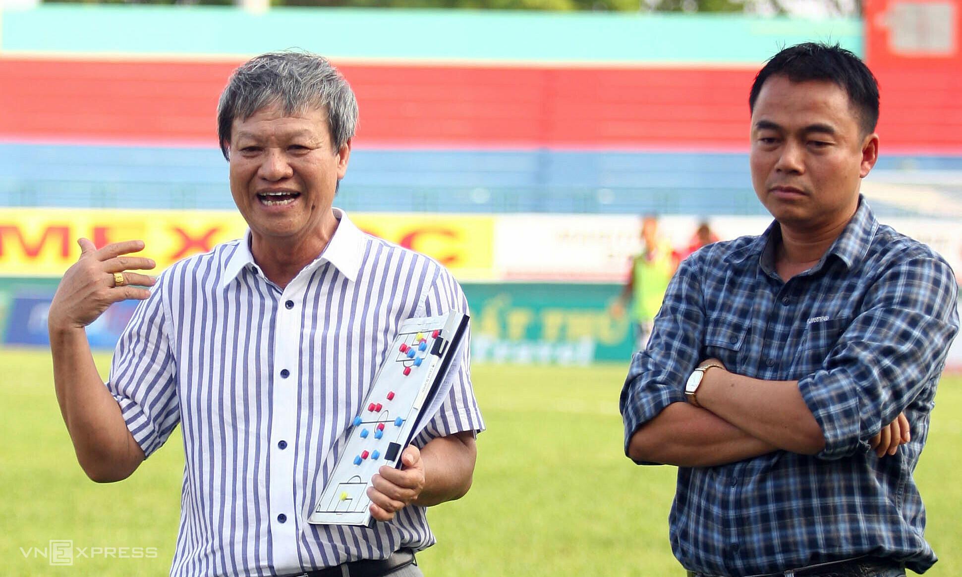 Sinh thời, HLV Lê Thuỵ Hải tạo ra văn hoá không can thiệp vào công việc chuyên môn từ các ông bầu ở V-League. Ảnh: Đức Đồng
