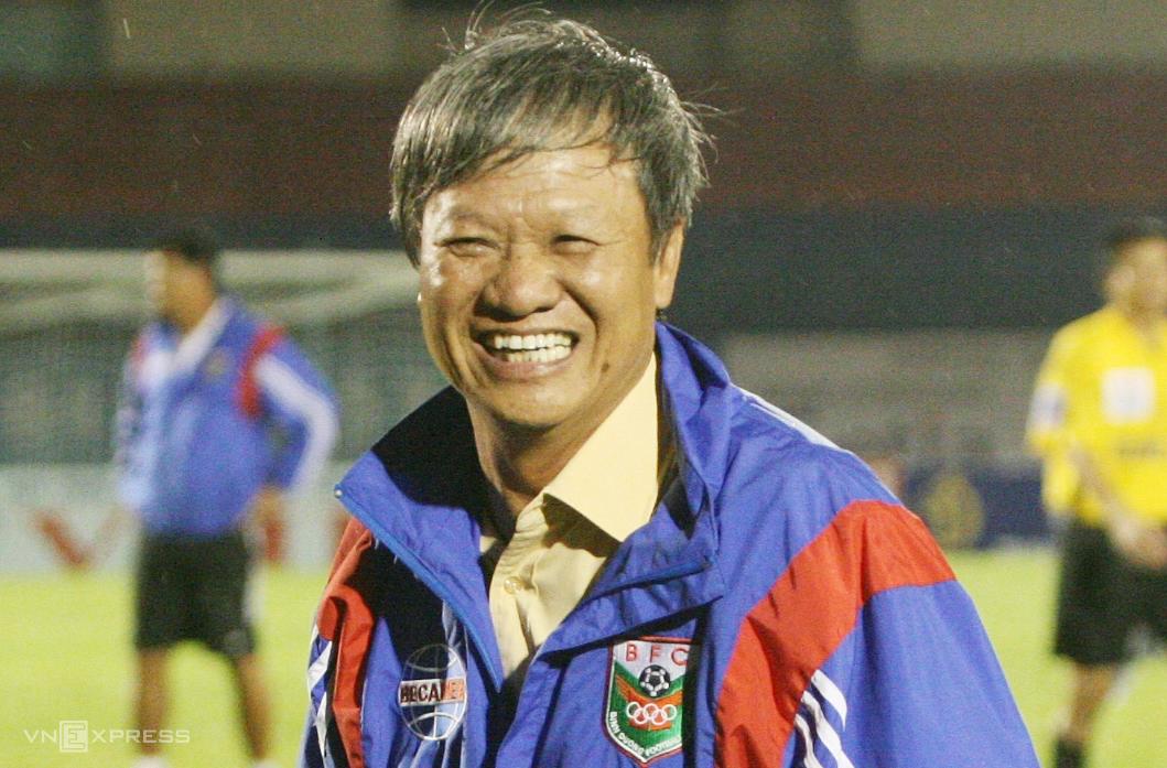 Bình Dương của ông Lê Thuỵ Hải mở ra thời kỳ hưng thịnh của các HLV nội ở V-League. Ảnh: Đức Đồng
