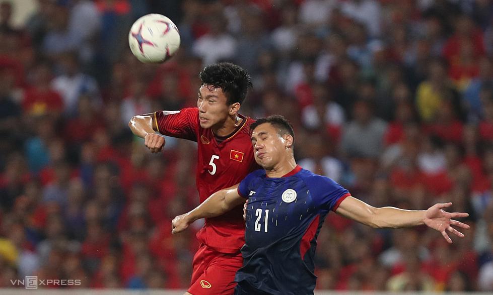 Giải U23 châu Á 2022 - với tên gọi mới là U23 Asian Cup - dành cho cầu thủ sinh từ 1/1/1999 trở về sau. Văn Hậu (trái) vẫn đủ tuổi tham dự. Ảnh: Lâm Thoả