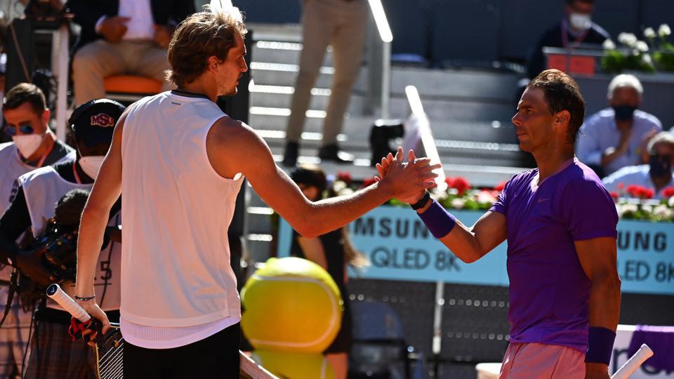 Nadal có cơ hội phục thù Zverev sau ba trận thua liên tiếp. Ảnh: ATP.