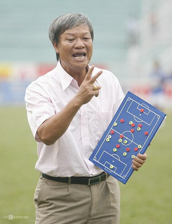 Sinh thời, Lê Thuỵ Hải là HLV thành công nhất ở V-League, với ba chức vô địch liên tiếp cùng Bình Dương. Ảnh: Đức Đồng.