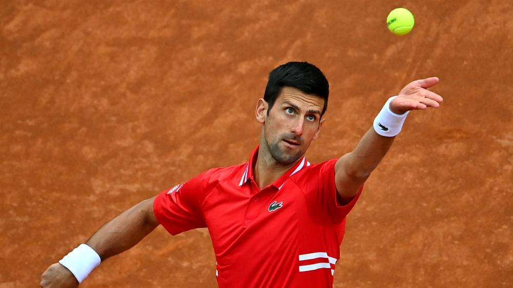 Djokovic menghadapi risiko tersingkir di perempat final Rome Masters, untuk pertama kalinya sejak 2013. Foto: ATP.
