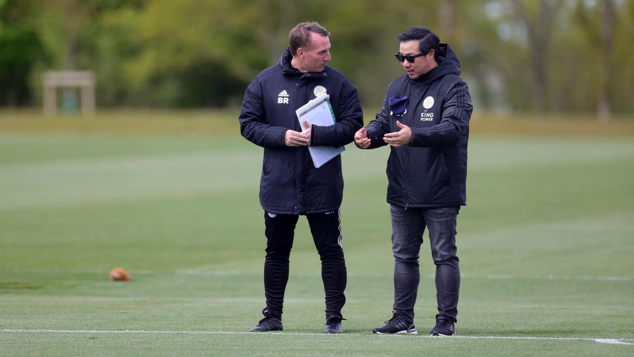 Chính sách Money Ball được nhà chủ Srivaddhanaprabha áp dụng với sự hưởng ứng từ HLV trưởng Brendan Rogers, mang lại thành công cho Leicester cả về tài chính lẫn thể thao. Ảnh: LCFC