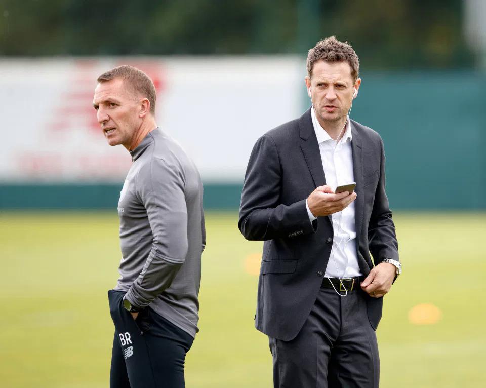 Sự kỹ lưỡng của Congerton và Rodgers giúp hệ thống tuyển trạch nhân sự vận hành hiệu quả, đảm bảo thành tích đi lên và nguồn thu lớn cho Leicester. Ảnh: The Sun Glasgow