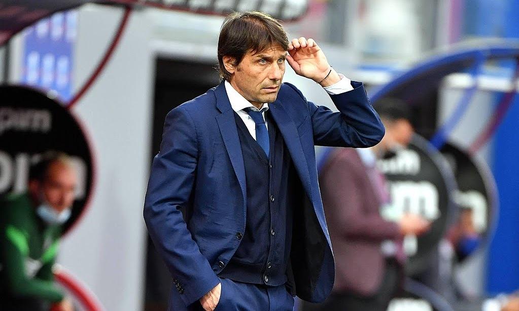 Conte lần thứ tư đoạt Serie A với tư cách HLV. Ảnh: EPA