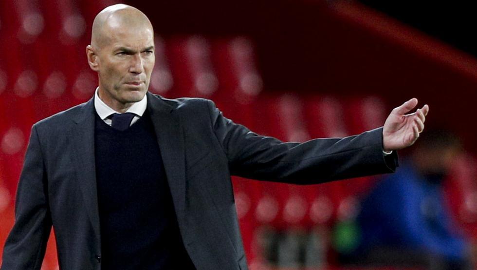 Zidane không còn phép màu như nhiệm kỳ đầu dẫn dắt Real. Ảnh: AP.