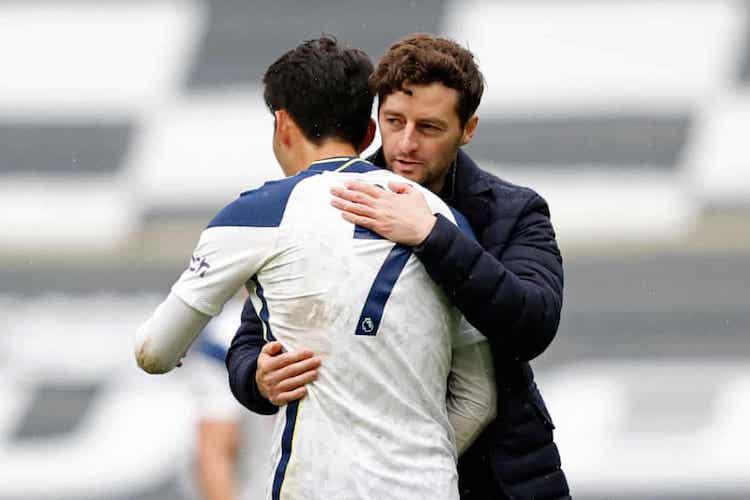Mason toàn thắng ba trận sân nhà đầu tiên với Tottenham. Ảnh: AFP.