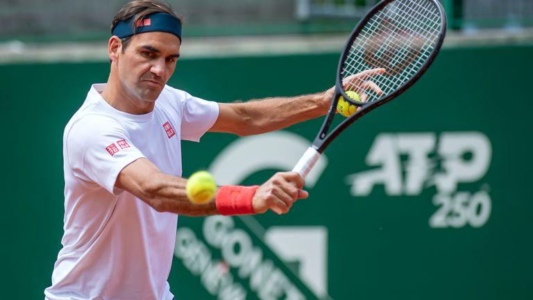 Federer mengincar gelar ke-104 dalam karirnya.  Foto: ATP.