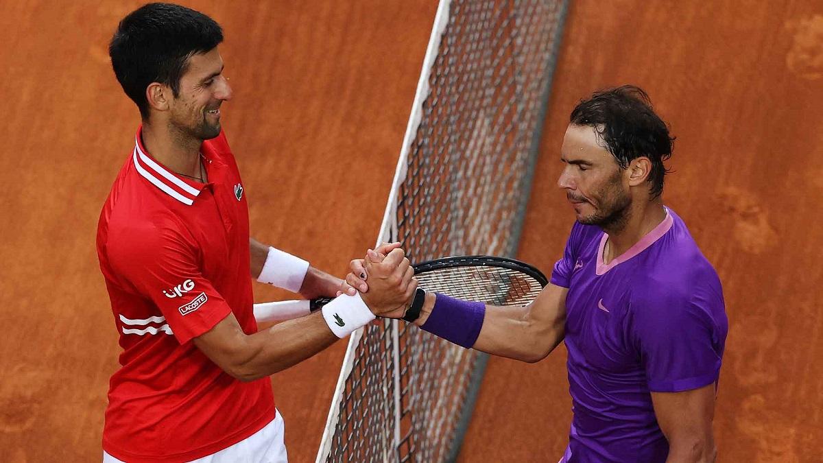 Djokovic kalah dalam pertandingan ke-28 dari Nadal.  Foto: ATP.