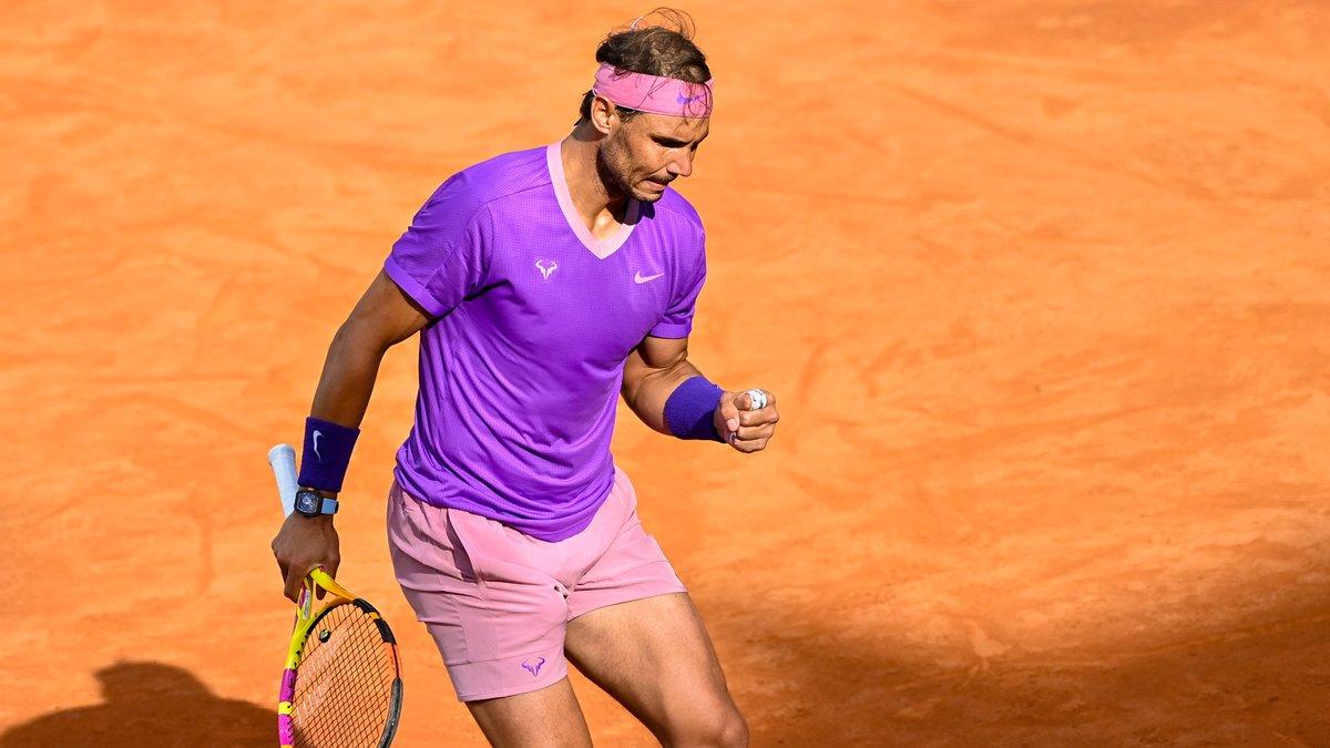Nadal cân bằng kỷ lục 36 Masters 1000 của Djokovic. Ảnh: ATP.