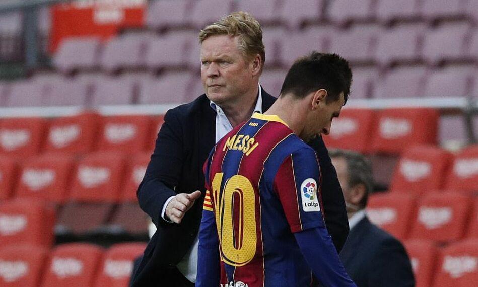 Setelah 13 tahun, Barca dengan tangan kosong di La Liga selama dua musim berturut-turut.  Foto: Reuters
