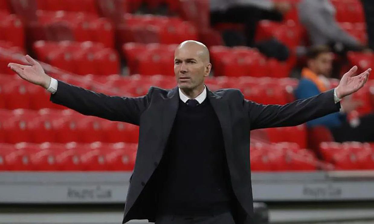 Zidane còn hợp đồng với Real đến hè 2022. Ảnh: Marca
