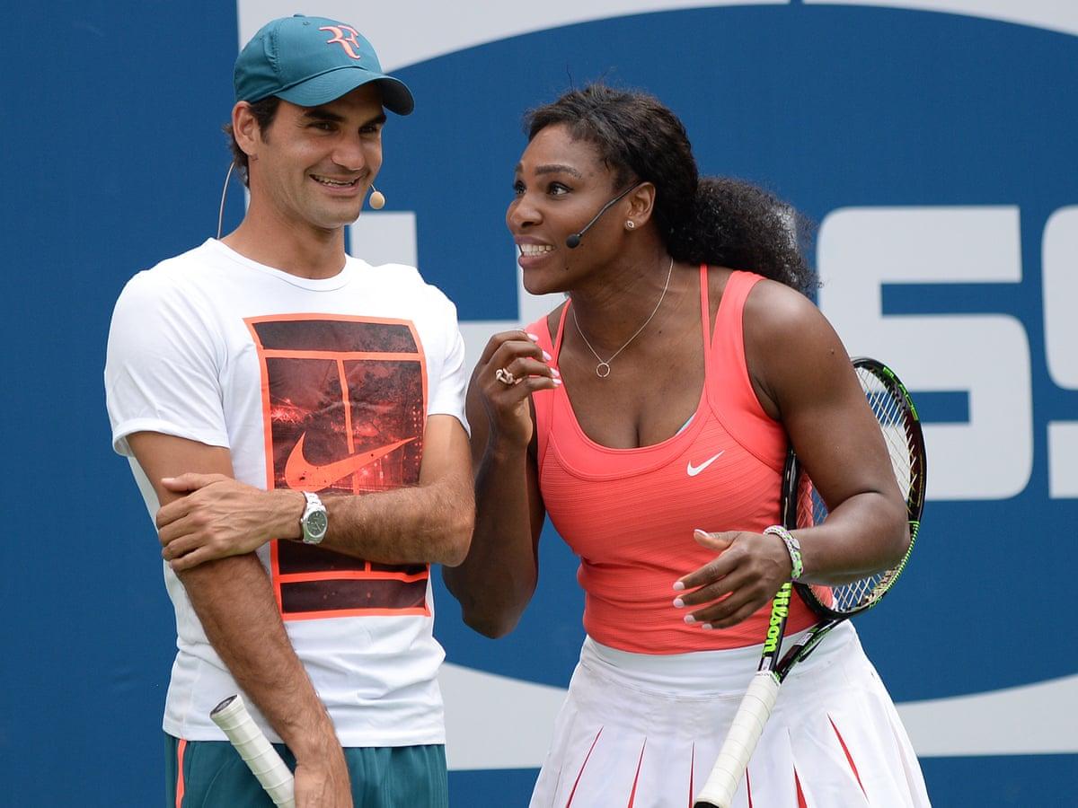 Federer có 103 danh hiệu, còn Serena có 75 chức vô địch trong sự nghiệp. Ảnh: WTA.