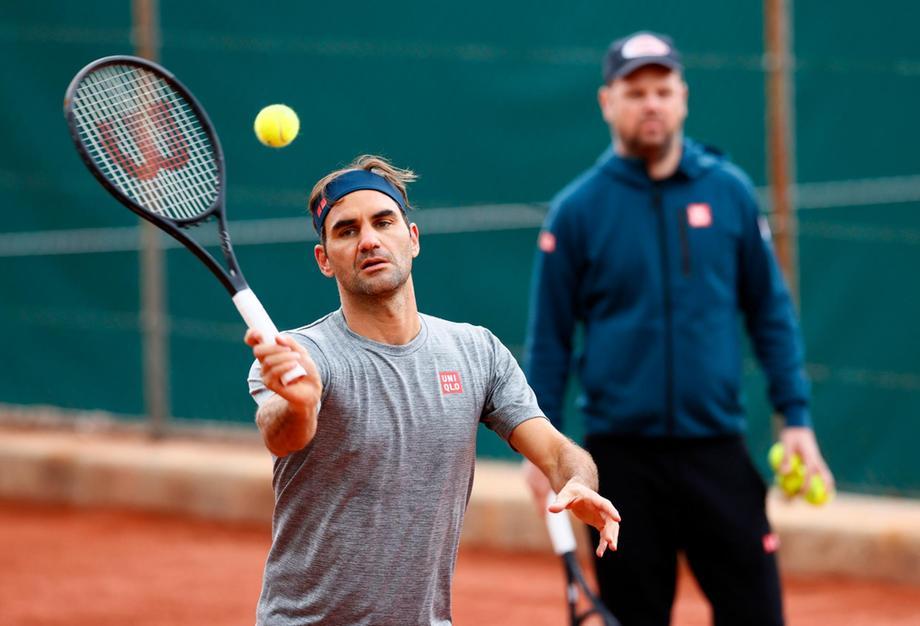 Federer hanya memainkan dua pertandingan dalam 15 bulan terakhir.  Foto: ATP.