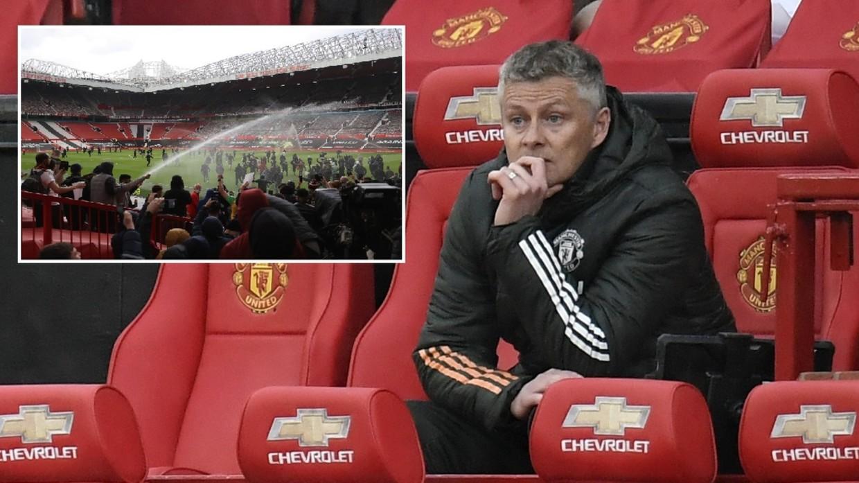 Solskjaer ต้องการเห็นแฟน ๆ กลับไปที่ Old Trafford แต่ในทางบวก  ภาพ: Reuters