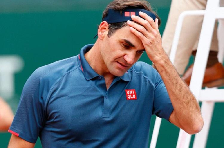 Federer kalah dua dari tiga pertandingan pada 2021. Foto: ATP.