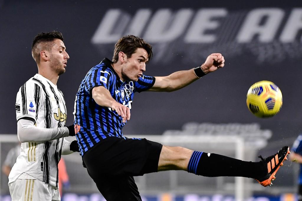 Atalanta tidak terkalahkan dalam kedua pertemuan Serie A mereka dengan Juventus musim ini.  Foto: AP