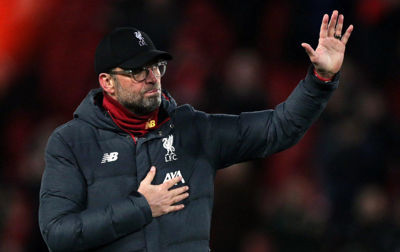 Klopp tỏ ra lạc quan về cơ hội cán đích trong top 4 Ngoại hạng Anh của Liverpool. Ảnh: PA