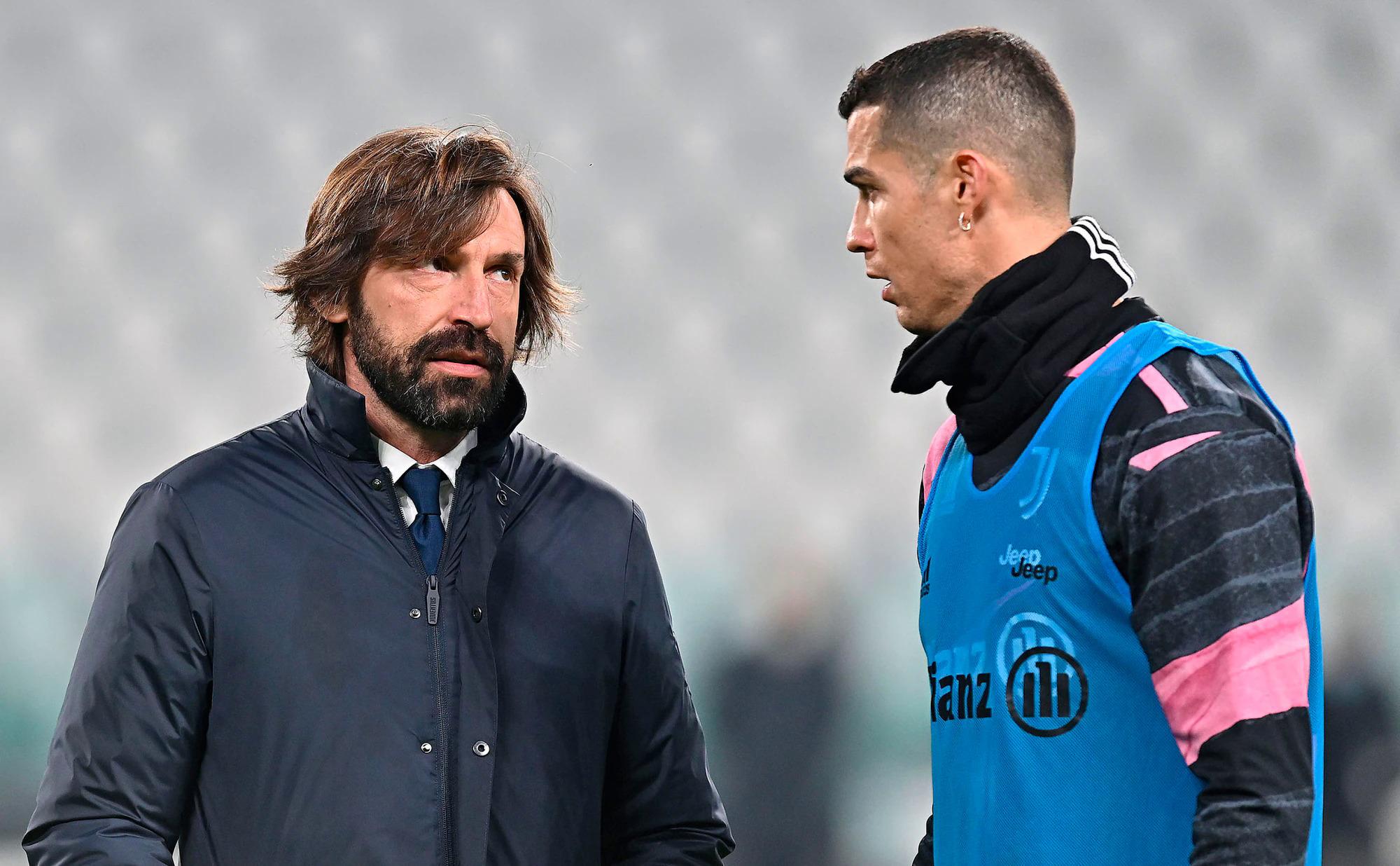 Pirlo dan Ronaldo berpeluang merebut gelar kedua musim ini untuk Juventus saat mereka bertanding di final Piala Italia hari ini.  Foto: ANSA